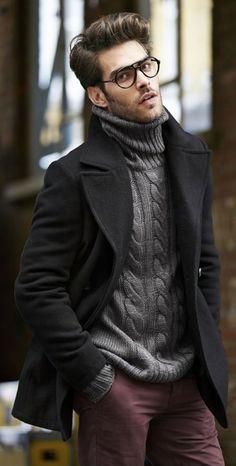 Erkekler için Günlük Giyim 15 Kış Kıyafet Fikirleri