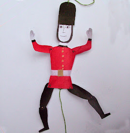 British Royal Guard Jumping Jack