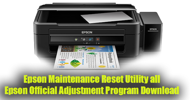 Epson Prienter All Adjustment Program