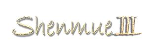 Shenmue III - papyrus logo