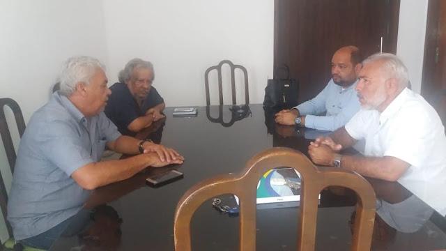 CES  discute  UPA  com prefeito  de Delmiro Gouveia