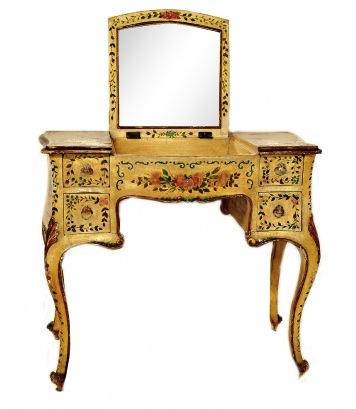 painted Italian vanity