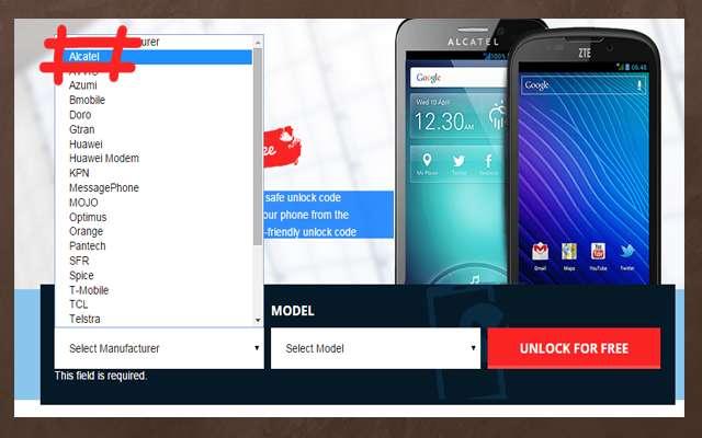 موقع جديد لفك تشفير الهواتف من عدة شركات مجانا