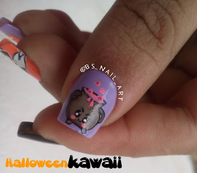 Nail Art: Halloween Kawaii