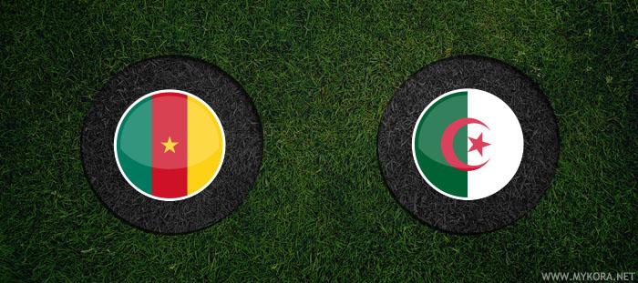 الجزائر والكاميرون بث مباشر