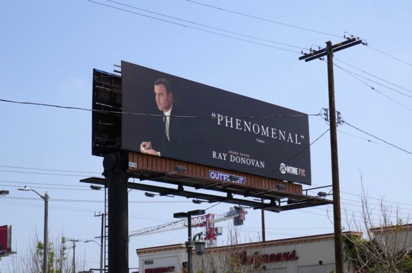 Ray Donovan season 5 Emmy FYC billboard