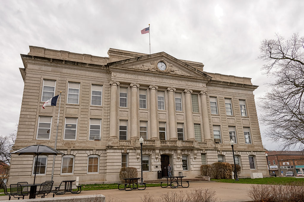 Greene County Courthouse in Jefferson, IA