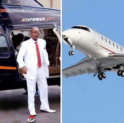 Bishop Oyedepo Buys New Aircraft. Sells Old Ones