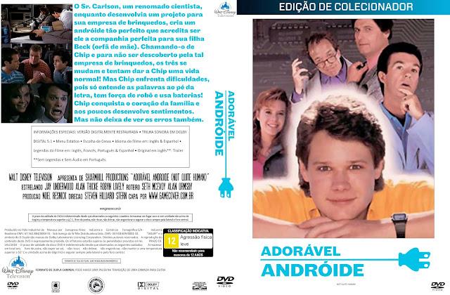Capa DVD Adorável Andróide [Coleção]