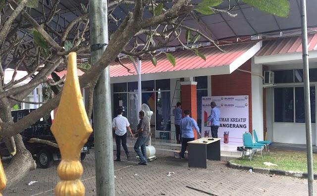 Rumah Kreatif BUMN Tangerang Hadir Di Sisi Bandara Soetta
