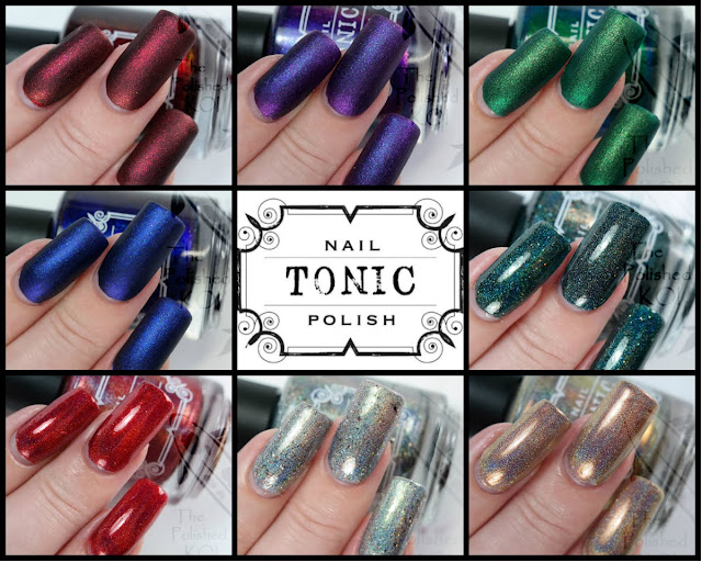 Tonic Polish Holiday 2018 Collection