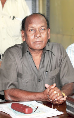 Birsa Tirkey, the state president of the Parishad