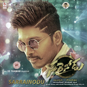 Sarrainodu (2016), Poster , Wallpaper, Still, CD Label,