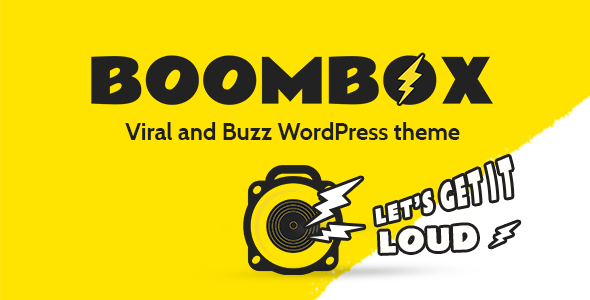 BoomBox WordPress Theme Free Download