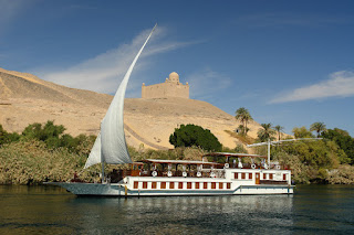 Dahabiya en Aswan