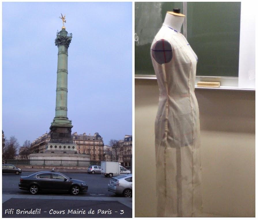 les brins de fils de sophie stage coupe couture mairie de paris 3 la robe. Black Bedroom Furniture Sets. Home Design Ideas