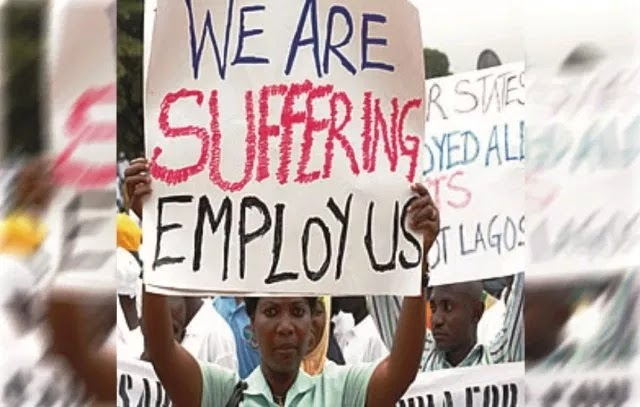 BREAKING: Number Of Unemployed Nigerians Jumps From 17.6m To 20.9m