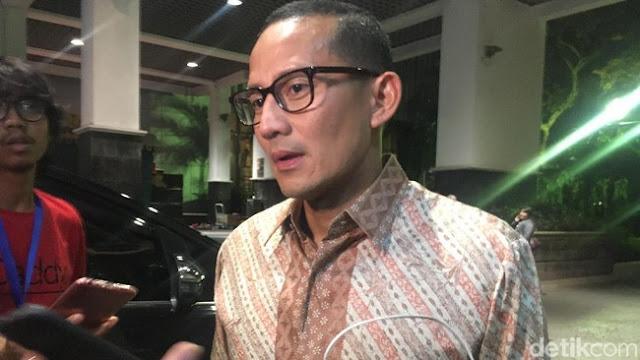 TGB Dukung Jokowi 2 Periode, Sandi : Dia Ahli Siasat dan Strategi