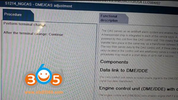 BMW CAS DME sync by ISTA-D step by step   Car OBD2 Tools