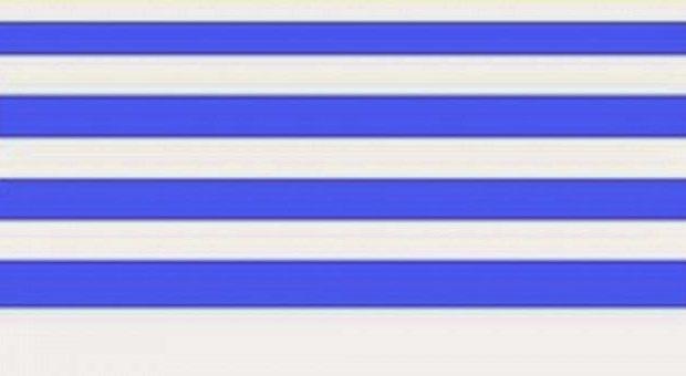Tα LIDL εγκαινίασαν την νέα ελληνική σημαία. Κάτι σαν ριγωτή κουρελού μοιάζει.
