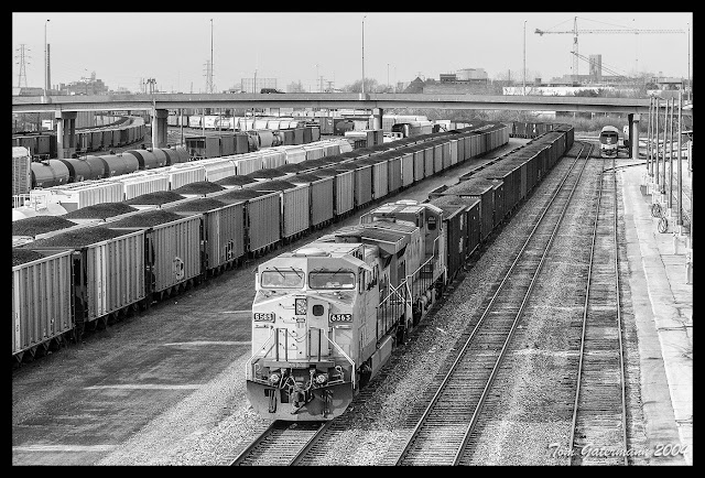 UP 6565 sits on TRRA's Merchants Subdivision near the Amtrak Station in St. Louis, Missouri.