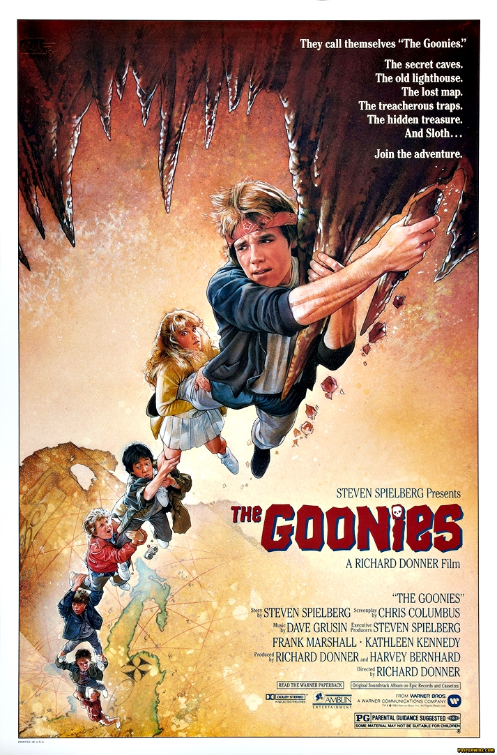 Póster: The Goonies