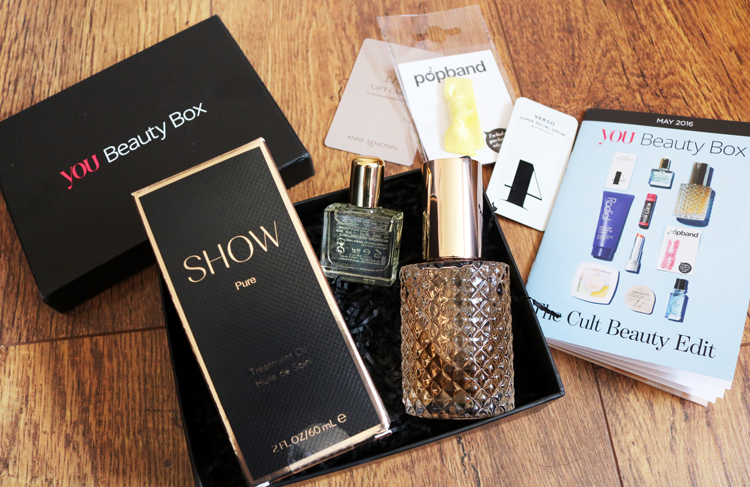 You Beauty Box - May 2016 review