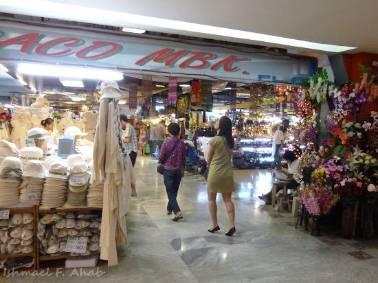 A sample of a shop in Mahboonkrong