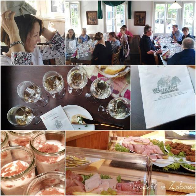 Bloggertreffen in Koblenz: Essen und Trinken gehört immer dazu. Diesmal auch eine Weinprobe