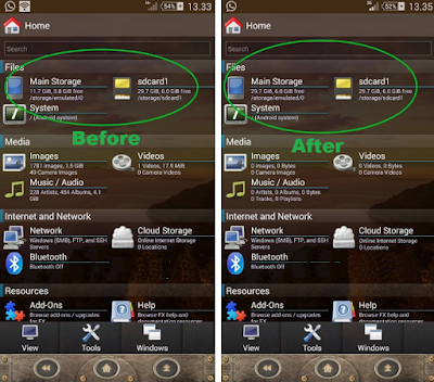 Tutorial Swap Memori Eksternal to Internal Di Semua Android