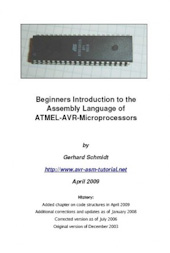 Beginners Introduction to the Assembly Language of ATMEL-AVR-Microprocessors