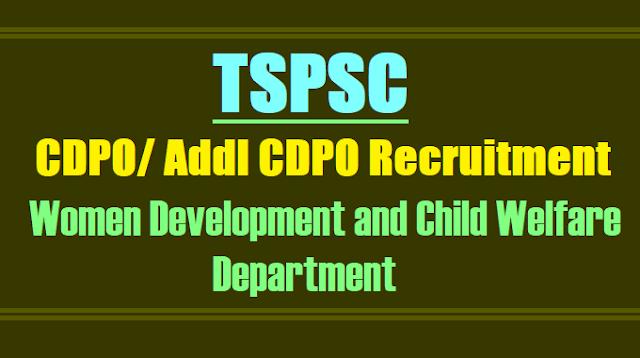 tspsc cdpo,acdpo recruitment 2017,cdpo,acdpo hall tickets,cdpo/acdpo results,cdpo/acdpo online application form exam date answer  key