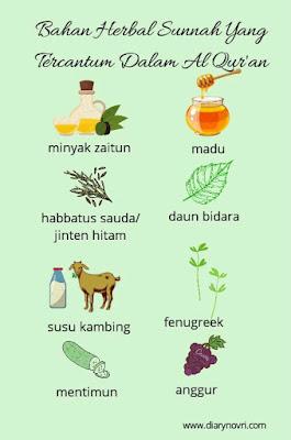 bahan herbal sunnah