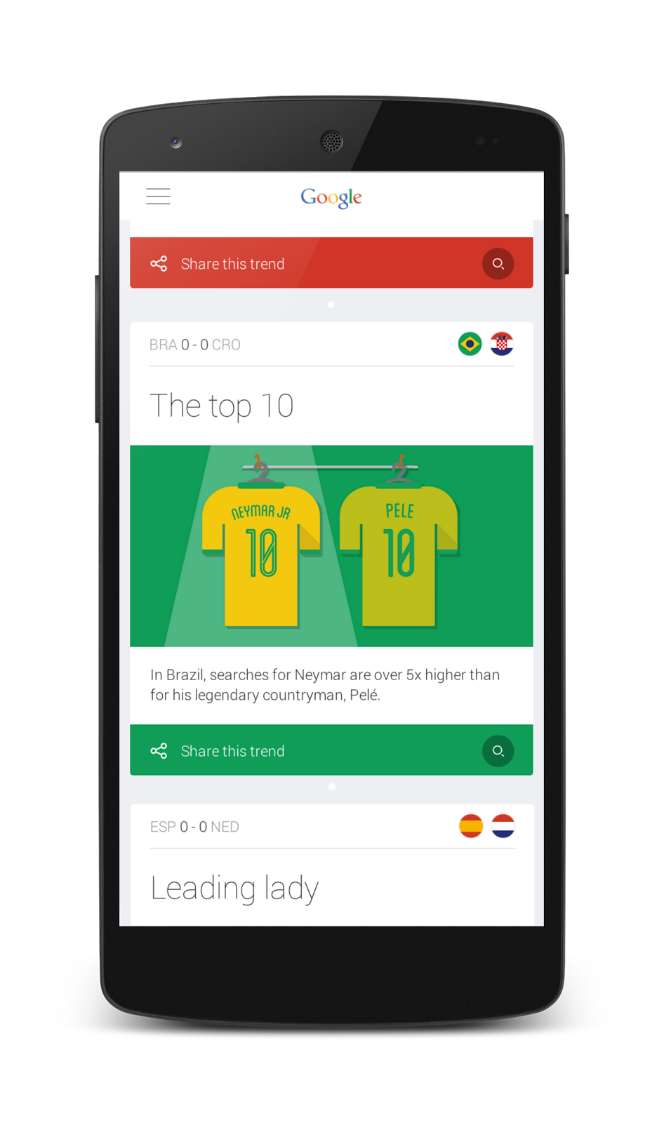 Official Google Blog Introducing A New Youtube App For: Official Google Blog: From Kickoff To The Final Goal