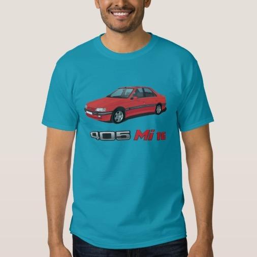 Peugeot 405 Mi16 t-shirt