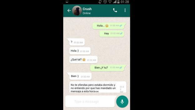 Tamara Historia WhatsApp
