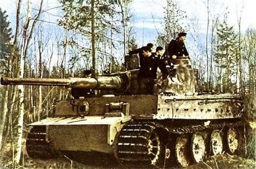 Late War German Artillery And Vehicles Pictures 5