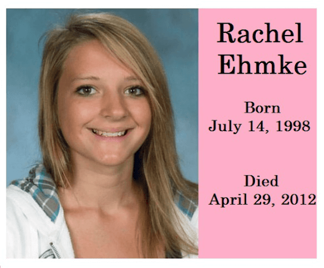 Rachel Ehmke, 13, from Mantorville, Minnesota