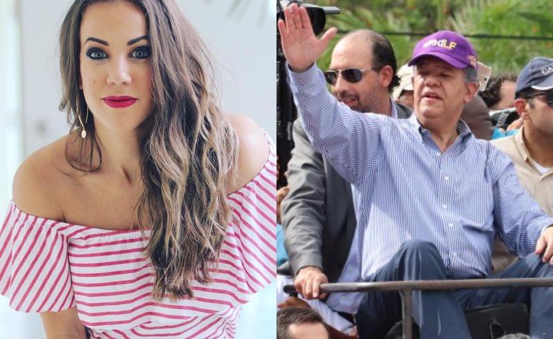 Karina Larrauri explota contra Leonel Fernández