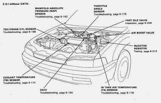 Sistem Sensor Pada Honda Accord Maestro PGMFI
