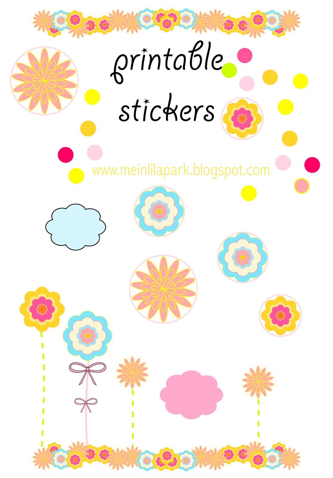 Free Printable Bumper Sticker Templates
