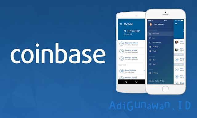 Review tempat trading exchange cryptocurrency di coinbase.com dan cara trading