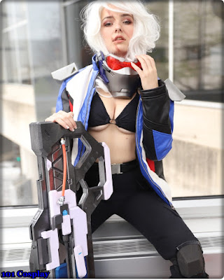 Cosplay Soldier 76 (Overwatch)