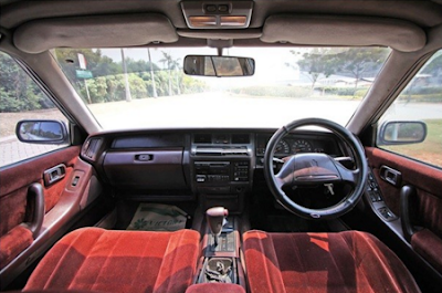 Interior Toyota Crown Robot