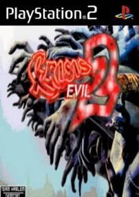 Resident Evil Crisis Evil 2 PS2 DVD Capa