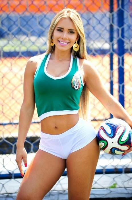 Belas do Mundial - Seleção Mexicana de Futebol - Rafaela Ravena