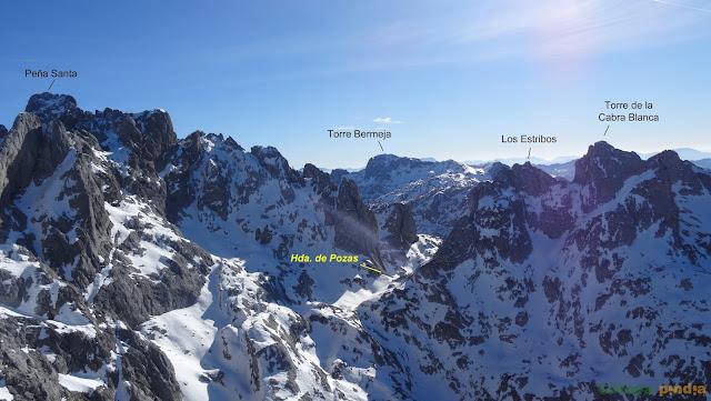 Ruta a La Torrezuela desde Pandecarmen, pasando por Vegarredonda en Picos de Europa