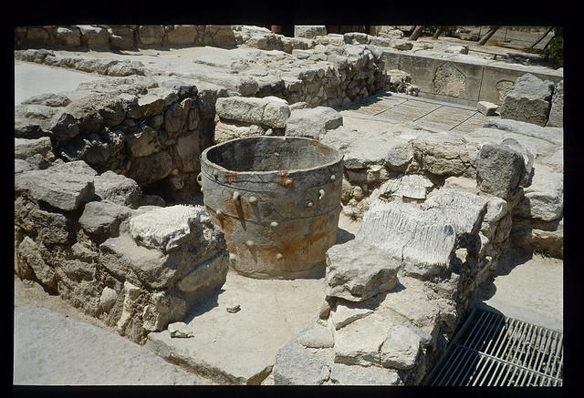 Ruins of ancient minoan civilization
