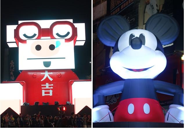 2019臺北西門町燈節、迪士尼米奇主題花燈