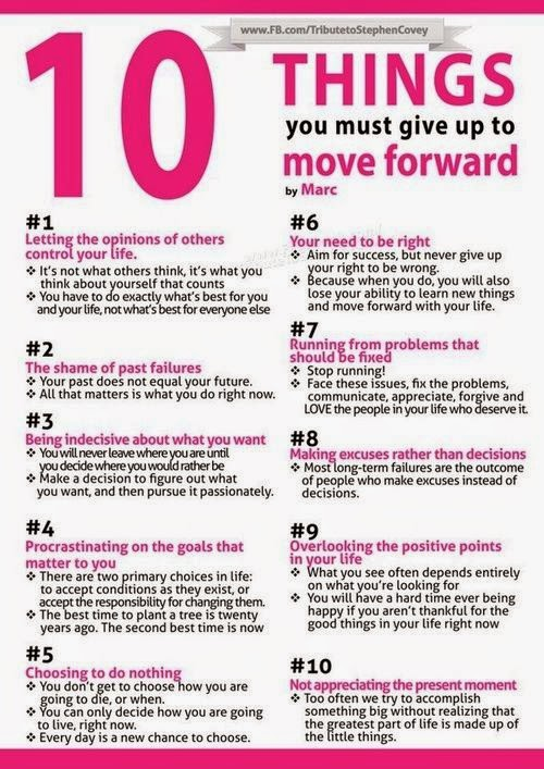 hover_share weight loss - 10 things you must give up to move forward